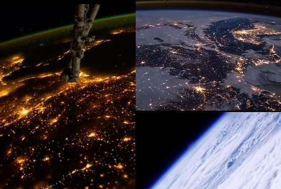 casozberne video zeme vytvorene vdaka medzinarodnej vesmirnej stanici