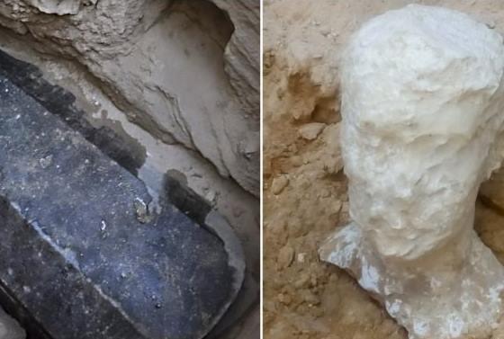 v egypte bol objaveny cierny sarkofag mnohi varovali pred jeho otvorenim co v nom nasli